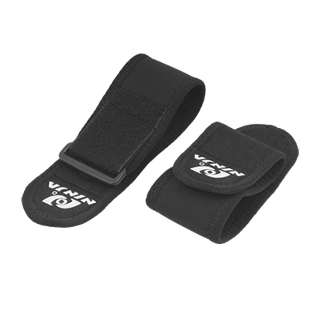 Pair of Black Adjustable Wrist Protector Neoprene Support