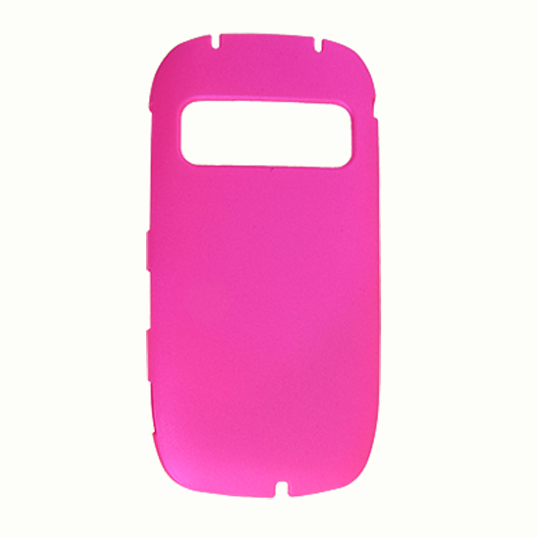 Rubberized Plastic Amaranth Pink Back Cover for Nokia C7
