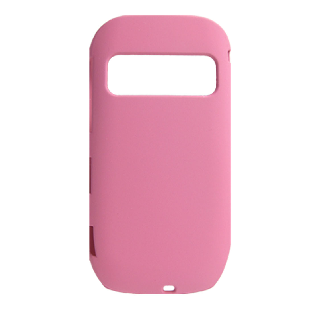 Hard Plastic Ultra Pink Back Cover Shell for Nokia C7