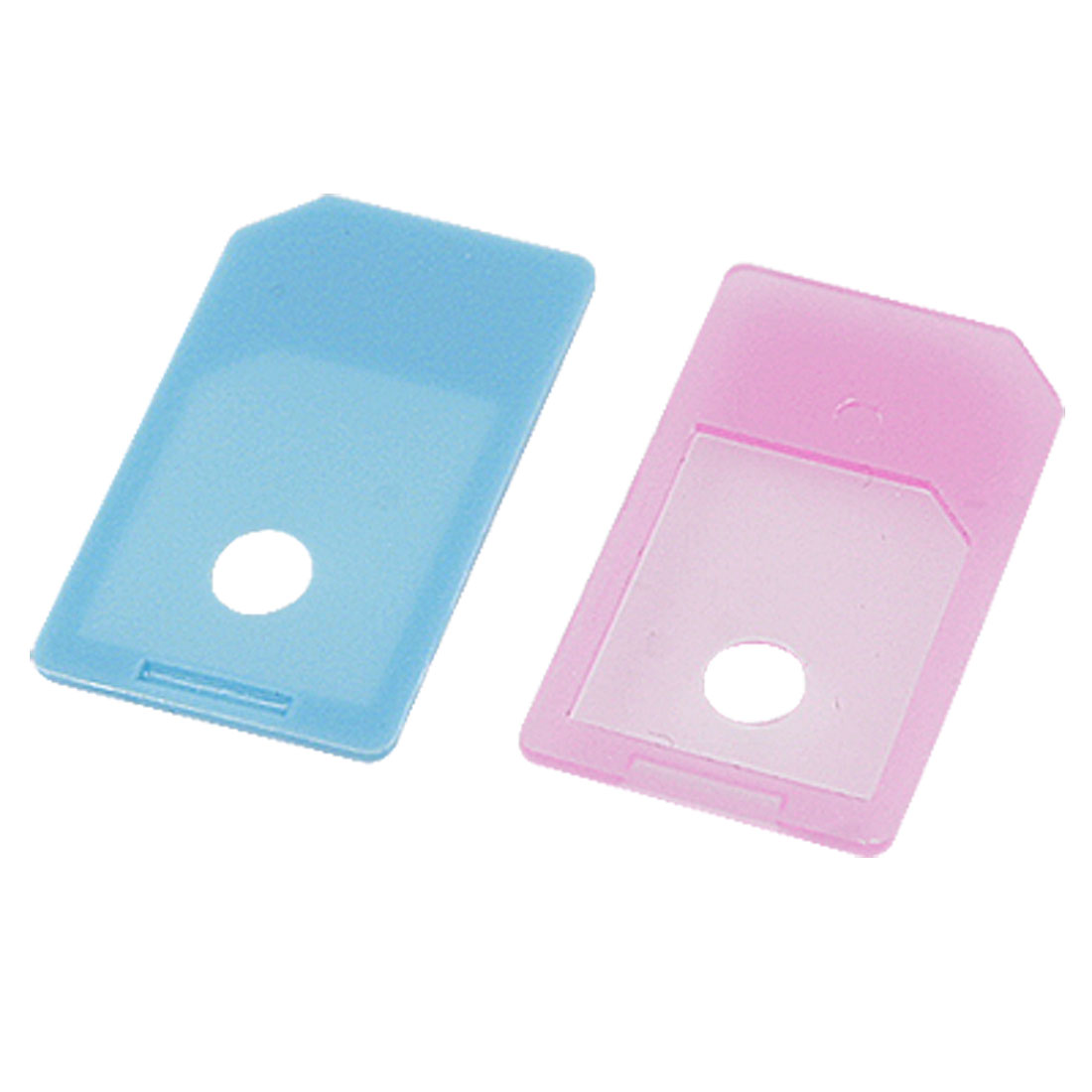 2 Pcs Micro SIM to SIM Card Adapter