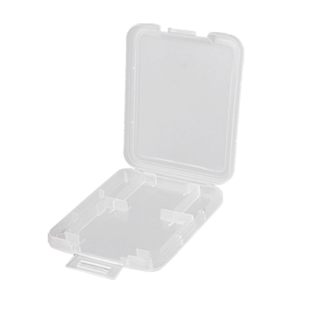 Clear Plastic Memory Storage Card Holder Case for Mini SD