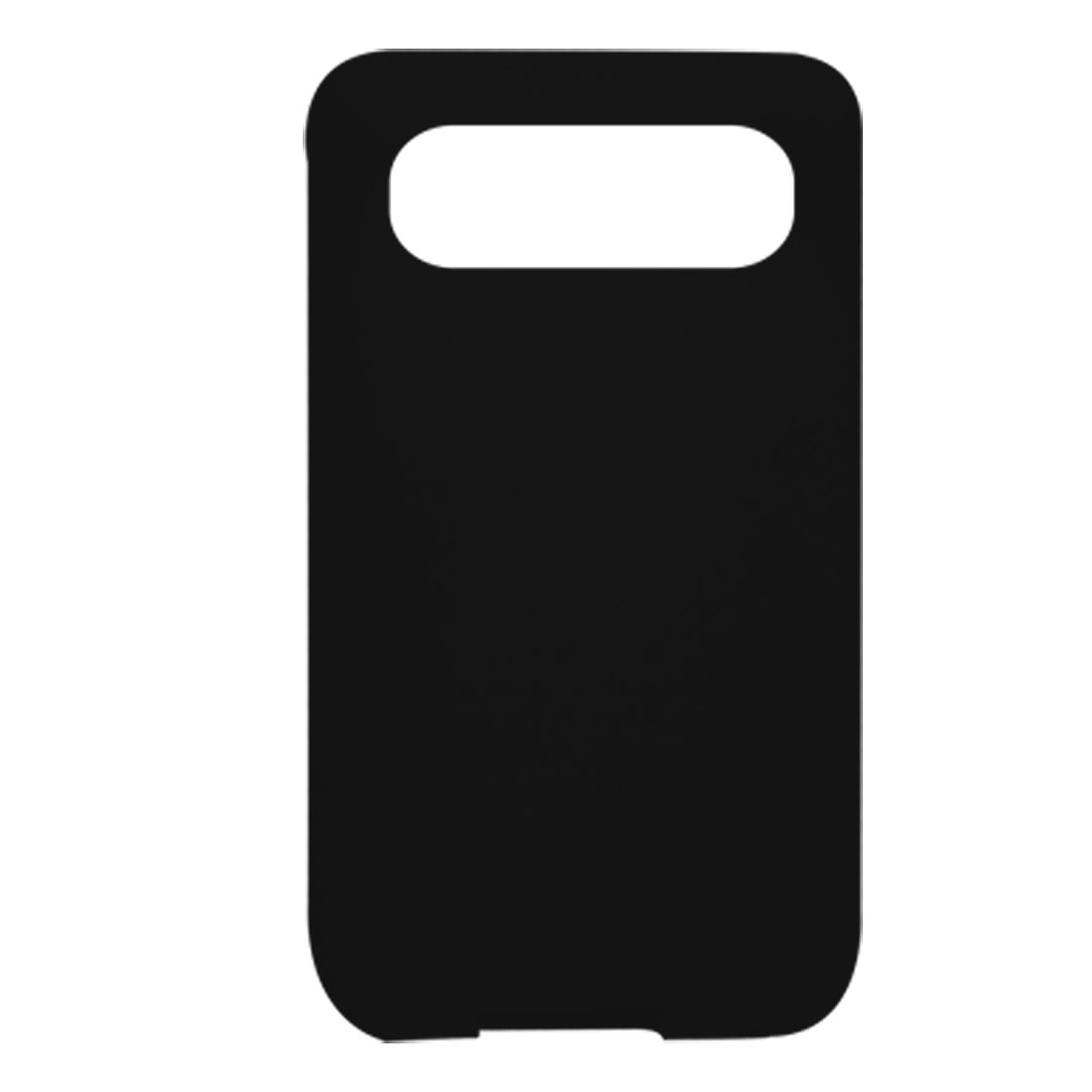 Black Soft Silicone Back Protector Cover for HTC Schubert HD7