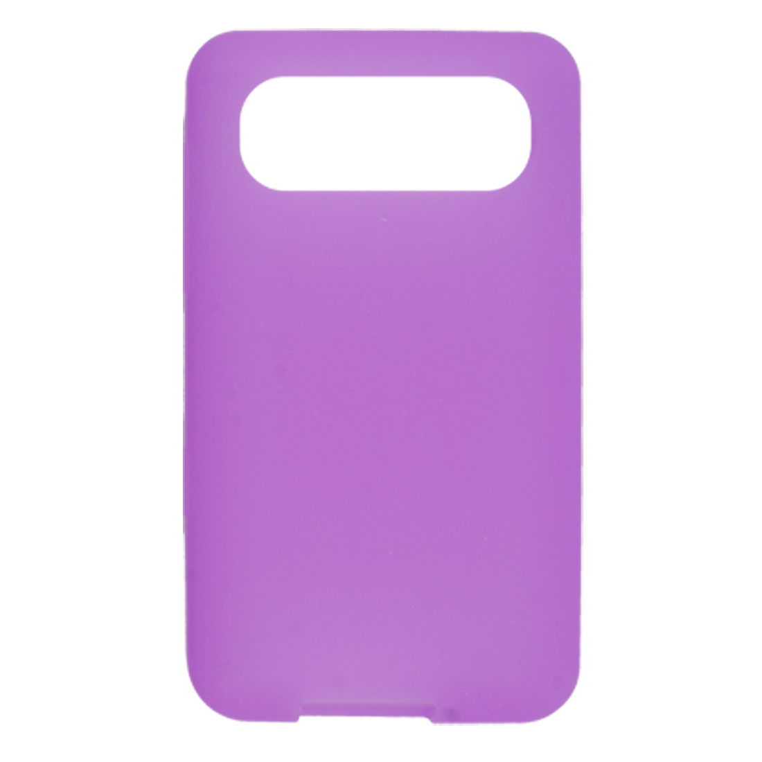 Purple Soft Silicone Skin Back Case for HTC Schubert HD7