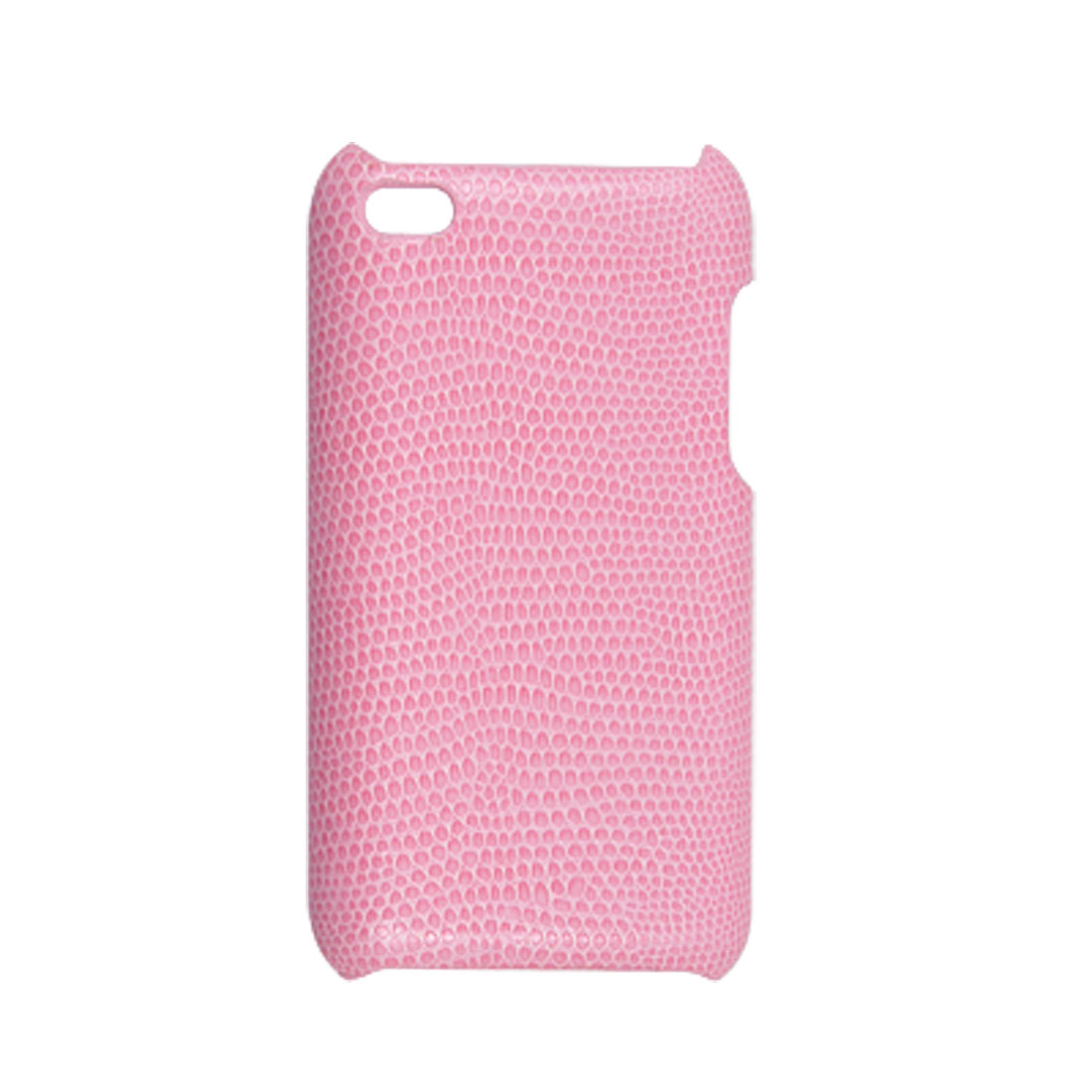 Pink Snake Print Nonslip Back Cover for iPod Touch 4