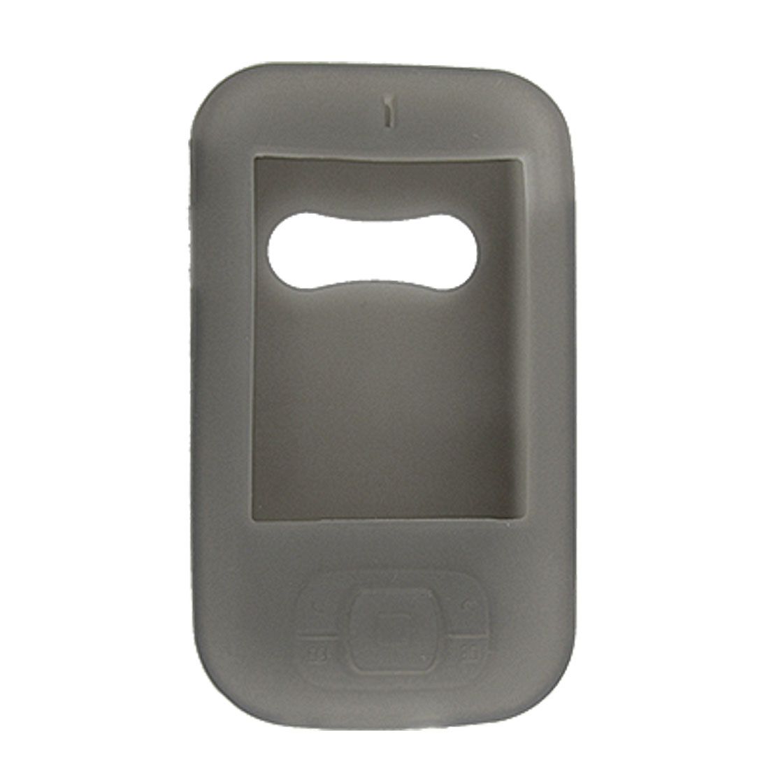 Gray Soft Silicone Skin Case Protector for Dopod 818