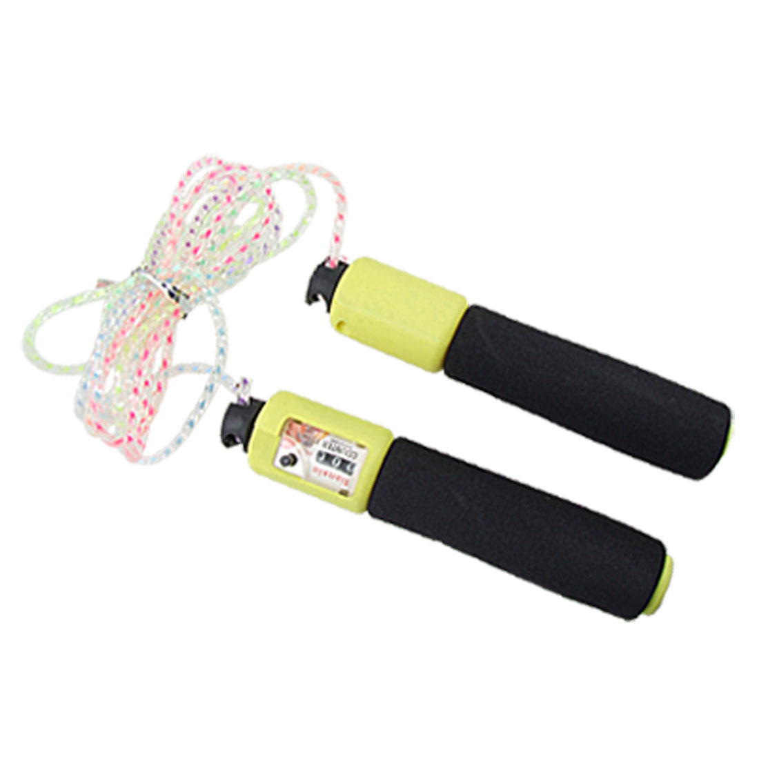 Foam Wrapped Handle Fitness Counting Jump Skipping Rope