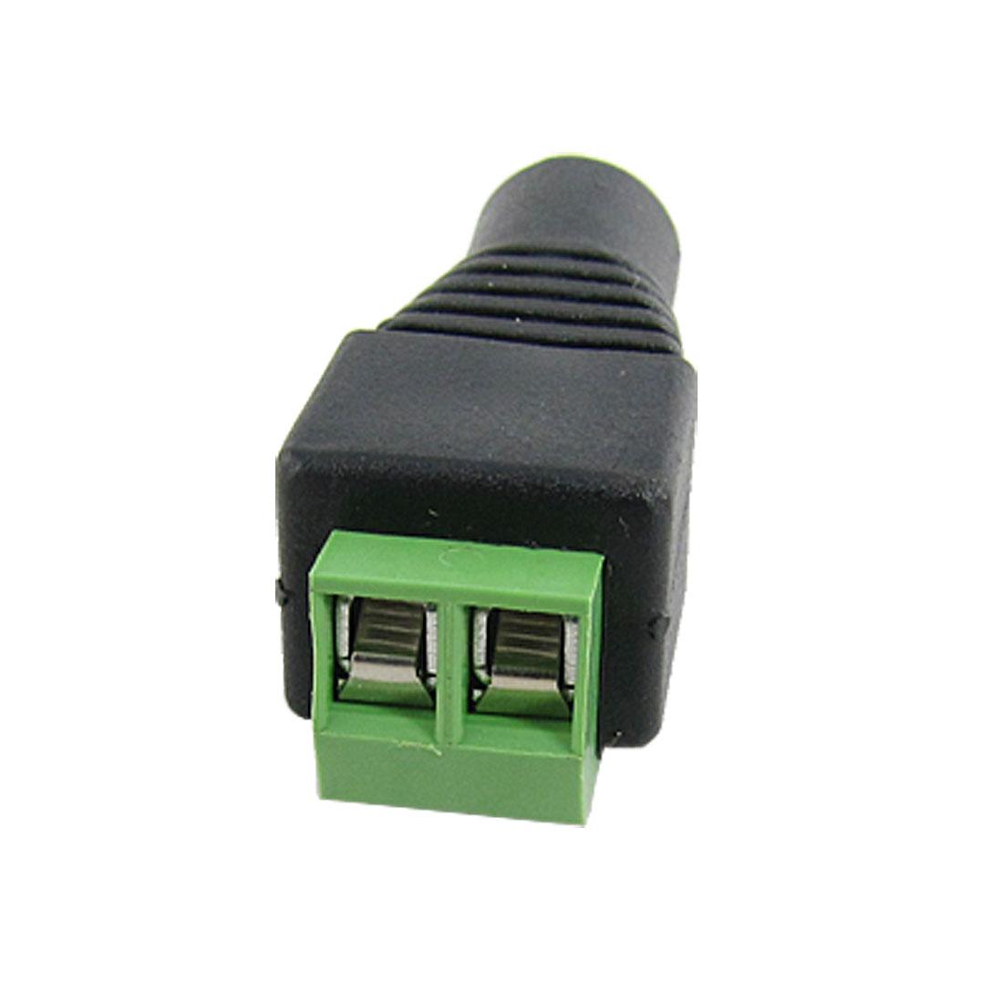 5.5 x 2.1mm DC Power Female Jack Connector Plug for CCTV Camera DVR