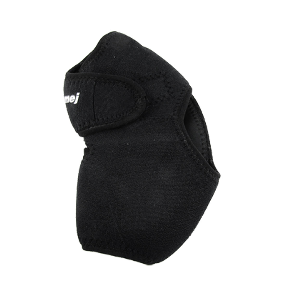 Black Detachable Closure Ankle Brace Neoprene Sport Support