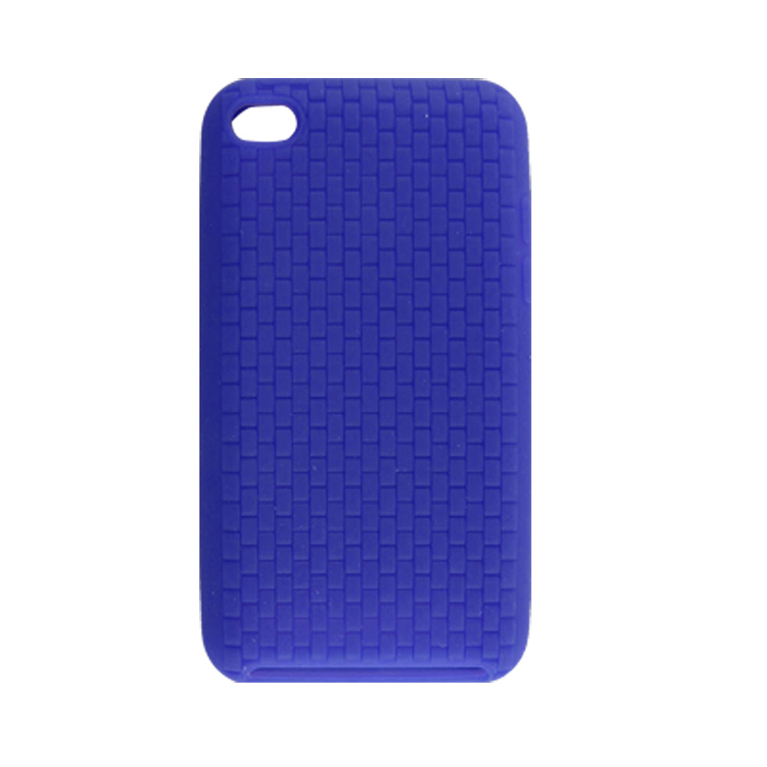 Blue Nonslip Protective Silicone Skin Case for iPod Touch 4G