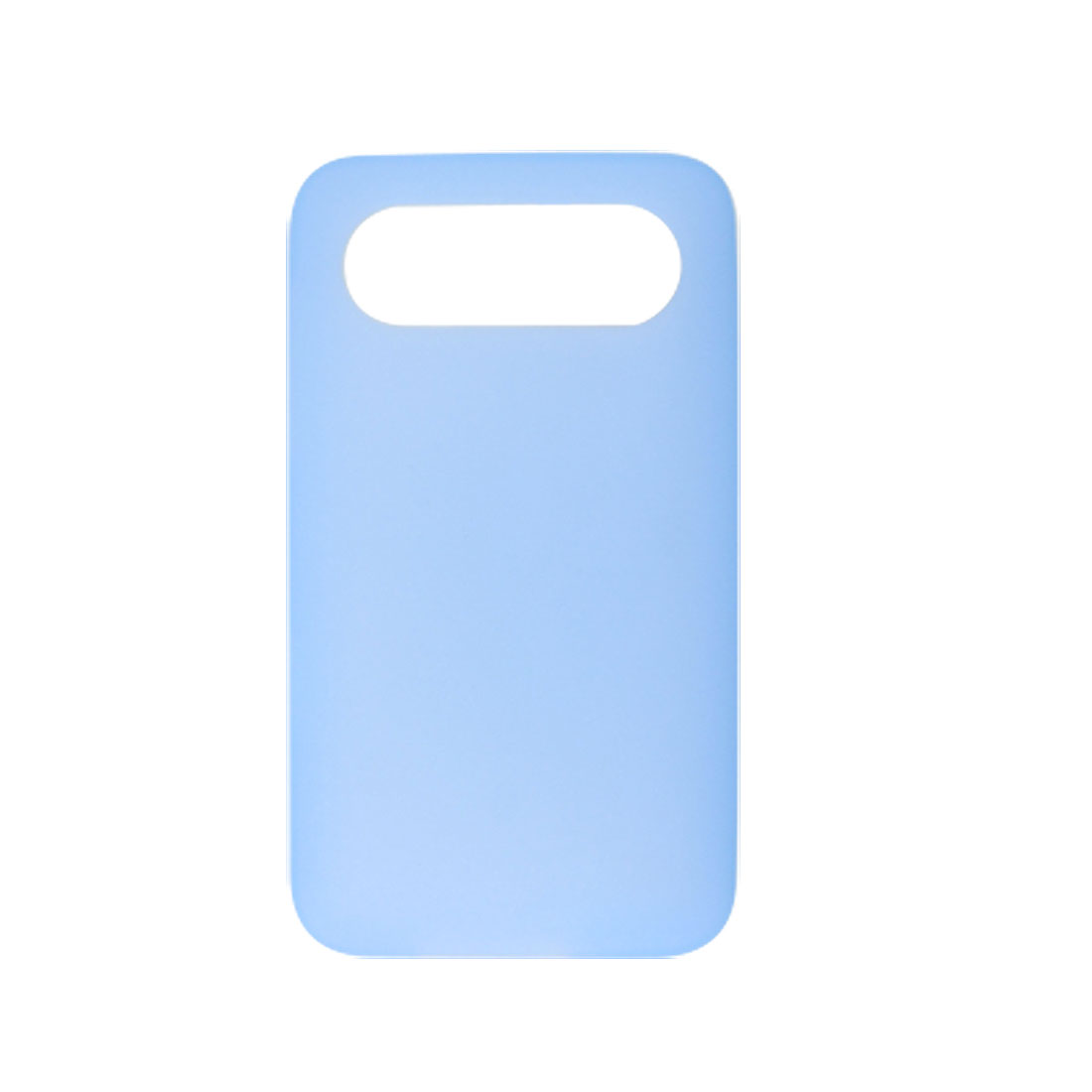 Light Blue Soft Silicone Skin Back Guard Case for HTC Schubert HD7
