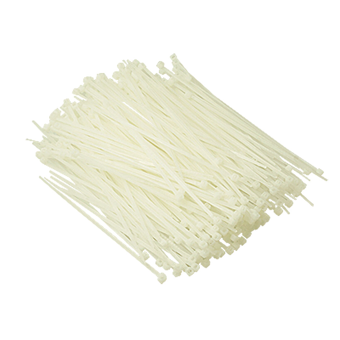 12cm Length Off White Self-locking Nylon Cable Tie