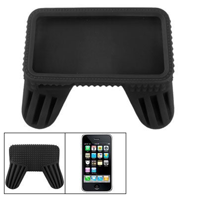 Black Slotted Joystick Handle Joystick Skin Case for iPhone 4G