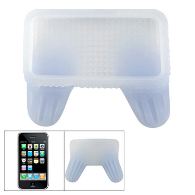 Light Blue Joystick Controller Silicone Skin Case for iPhone 4G
