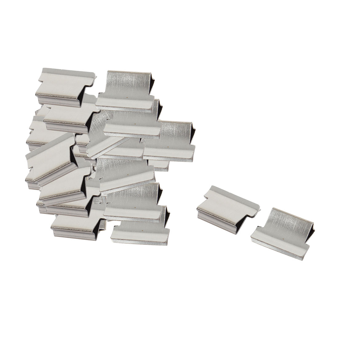 Office Stationery Fast Clam Clip Dispenser Refill 40 Pcs