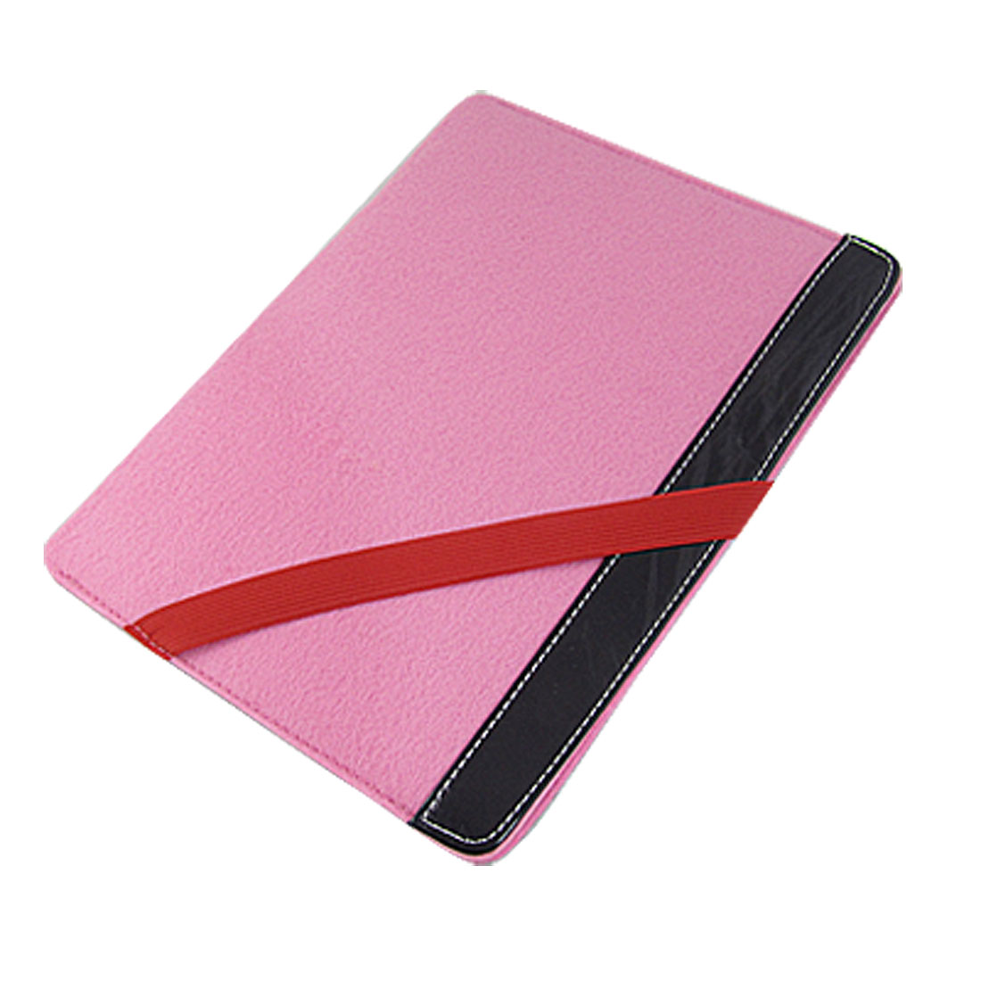 Red Elastic Band Pink Protective Sleeve Pouch