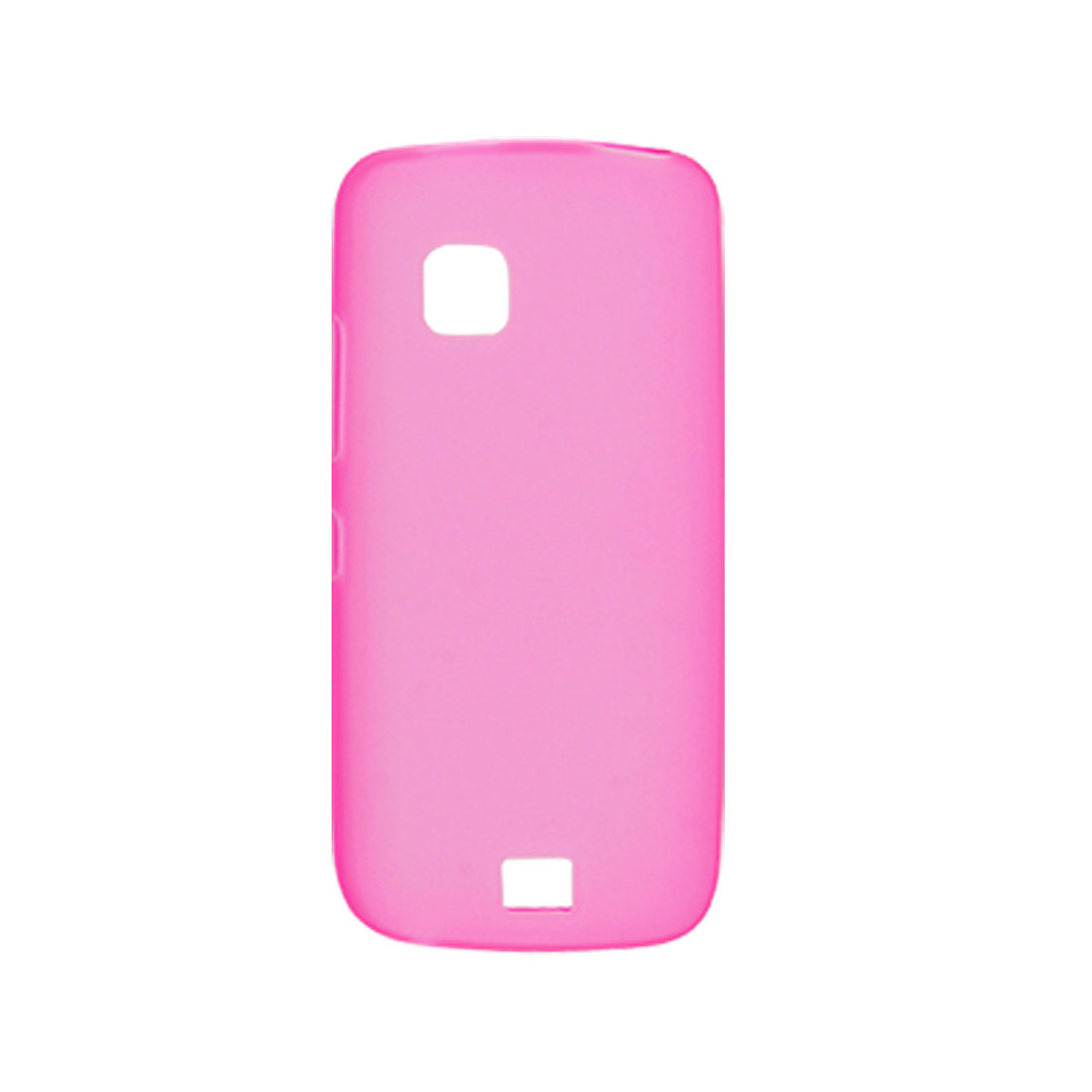 Amaranth Pink Soft Plastic Case Protector for Nokia C5-03