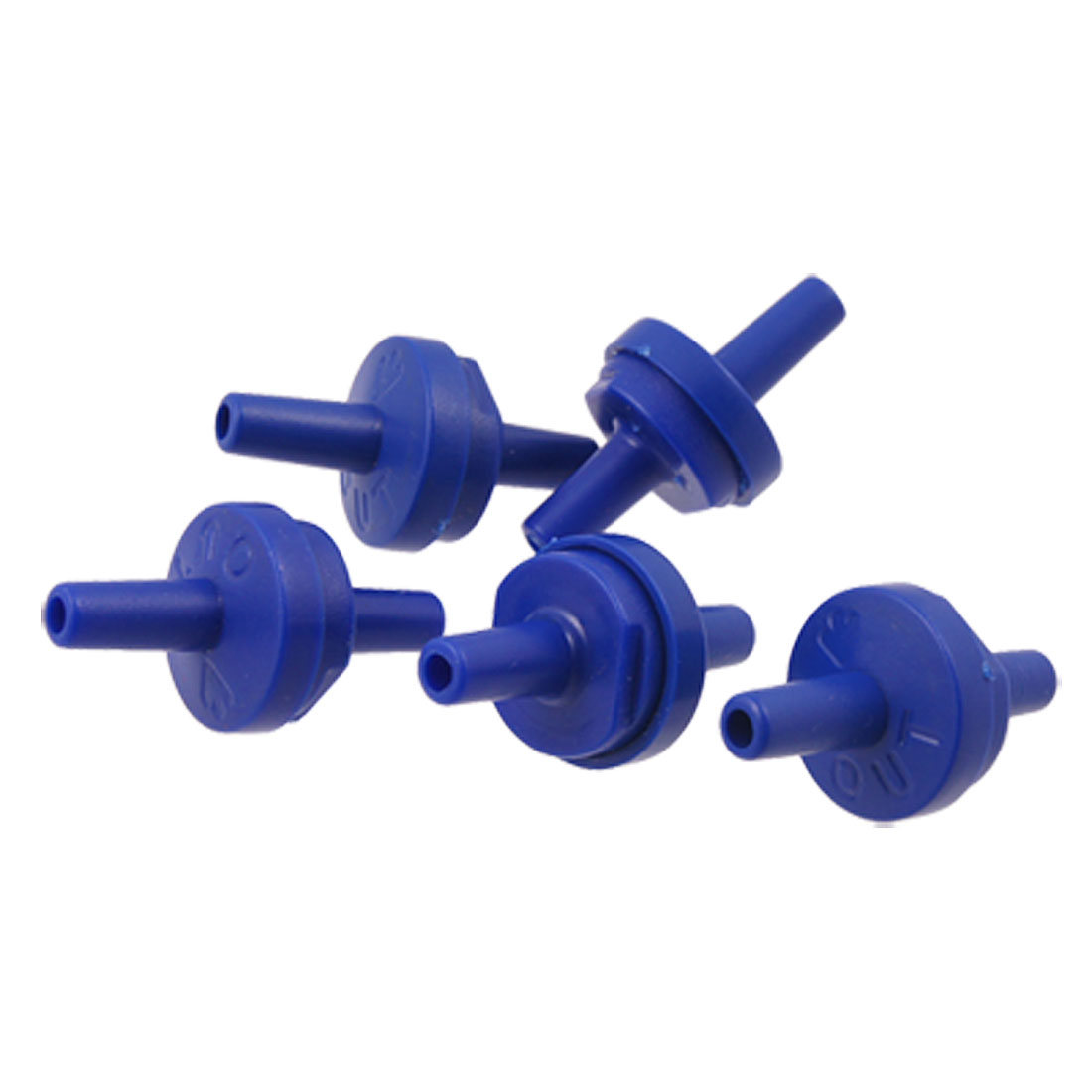 5PCS Plastic Non-Return Aquarium Air Pump Check Valves