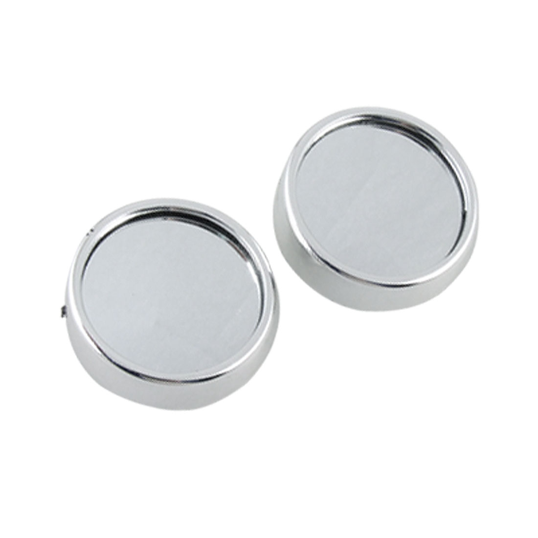 Car Side View Round Convex Rearview Blind Spot Mirrors 2 Pcs