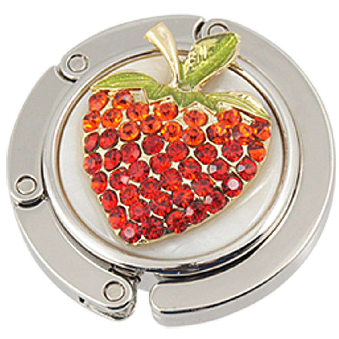 Handbag Purse Strawberry Accent Foldable Hook Hanger