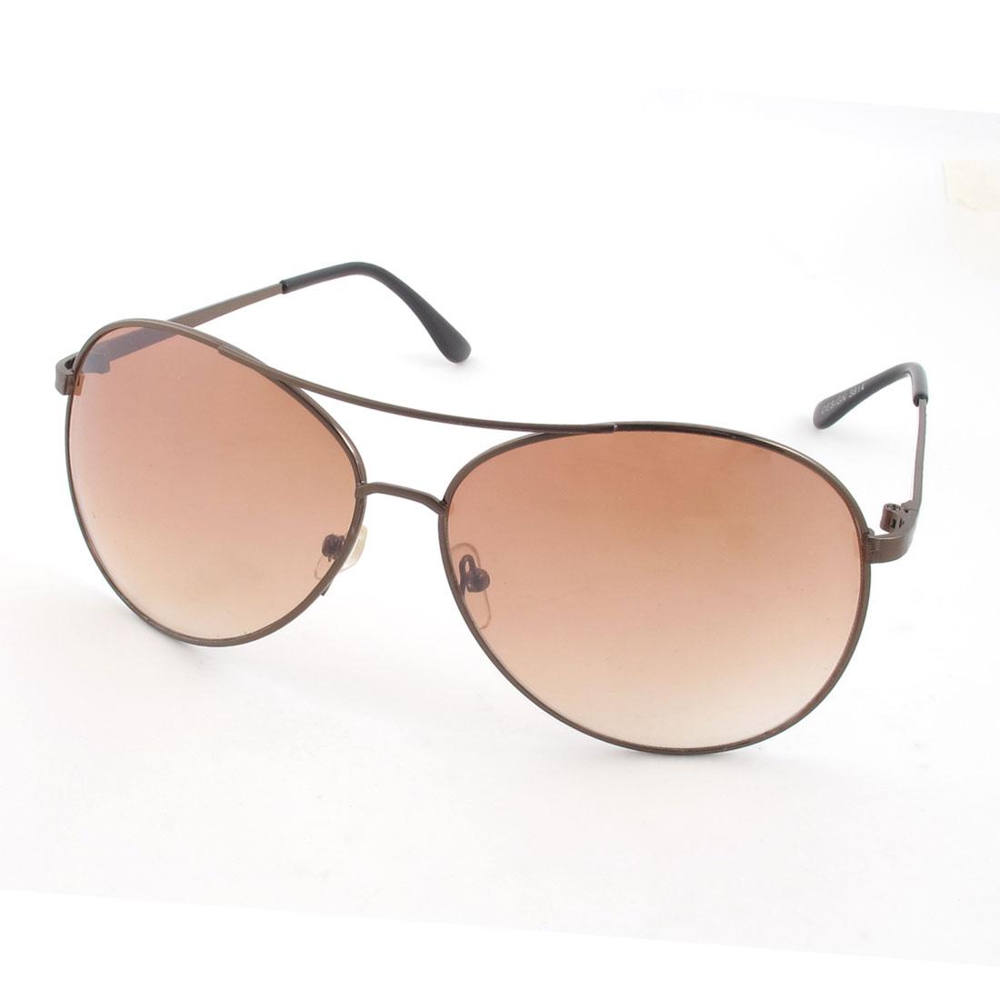 Men Metal Aviator Sunglasses UV400 Protection Outdoor Eyewear