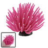 "Aquarium Fish Tank 4"" Diameter Hot Pink Soft Silicone Coral Ornament"