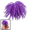 "Purple 4"" Diameter Soft Silicone Coral Ornament for Aquarium Fish Tank"