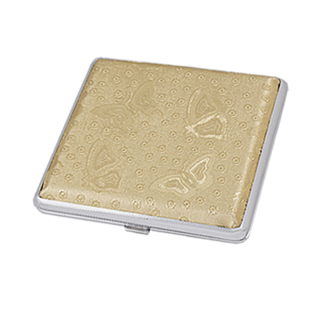 Pocket Butterfly Detail Cigarette Tobacco Box Case Holder