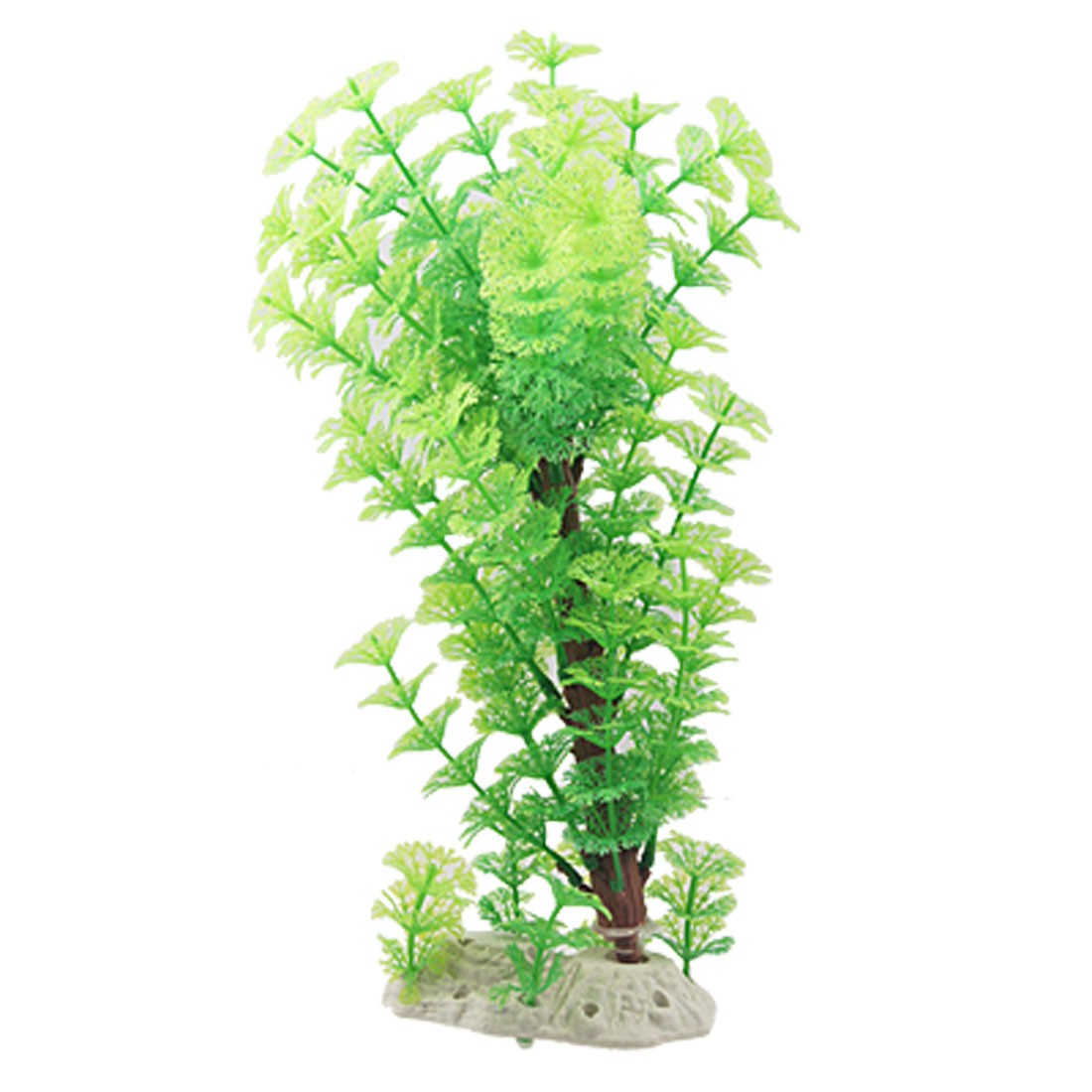 Aquarium Decor Fish Tank Emulational Green Plastic Plant