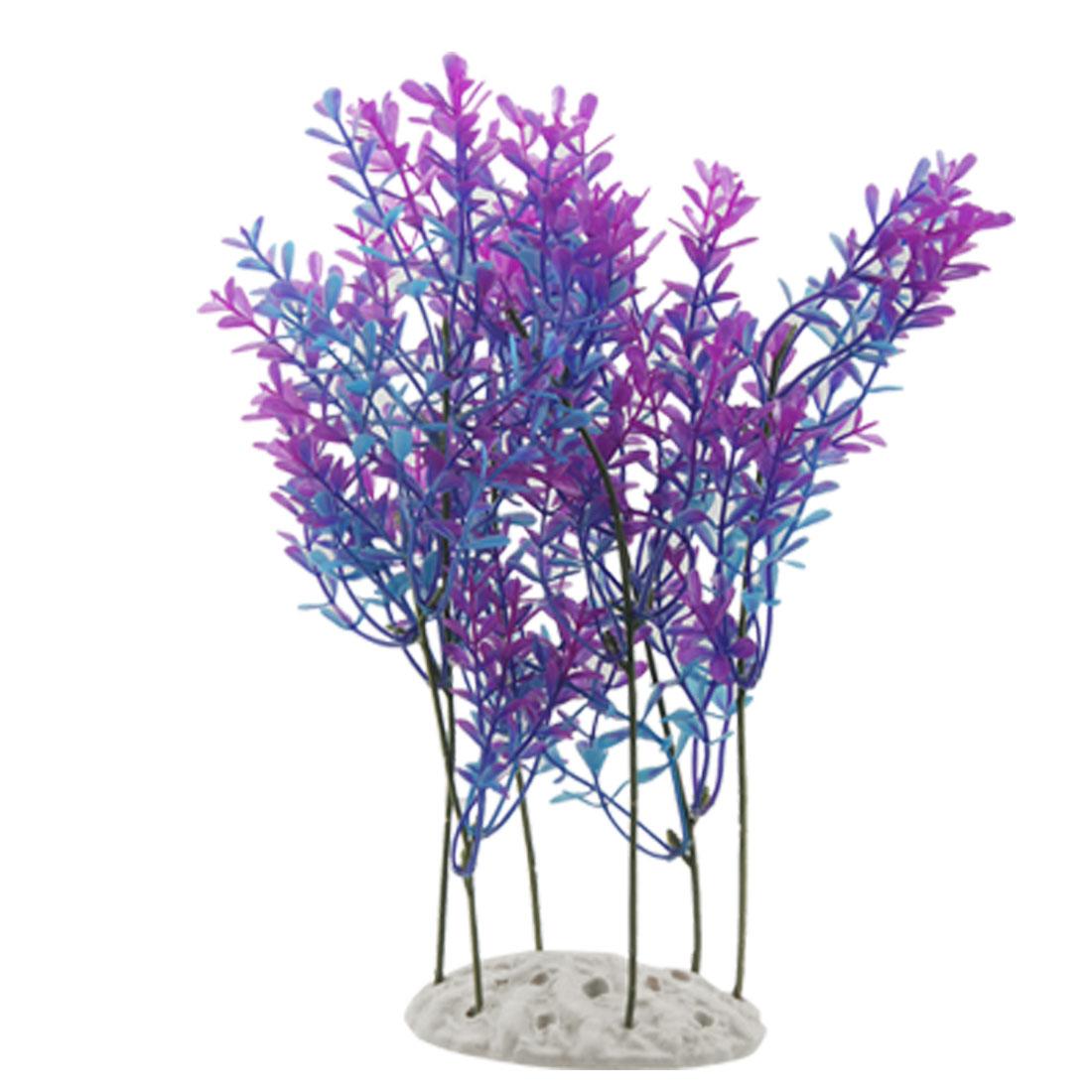 Aquarium Aquascaping 27cm Height Colored Grass Ornament