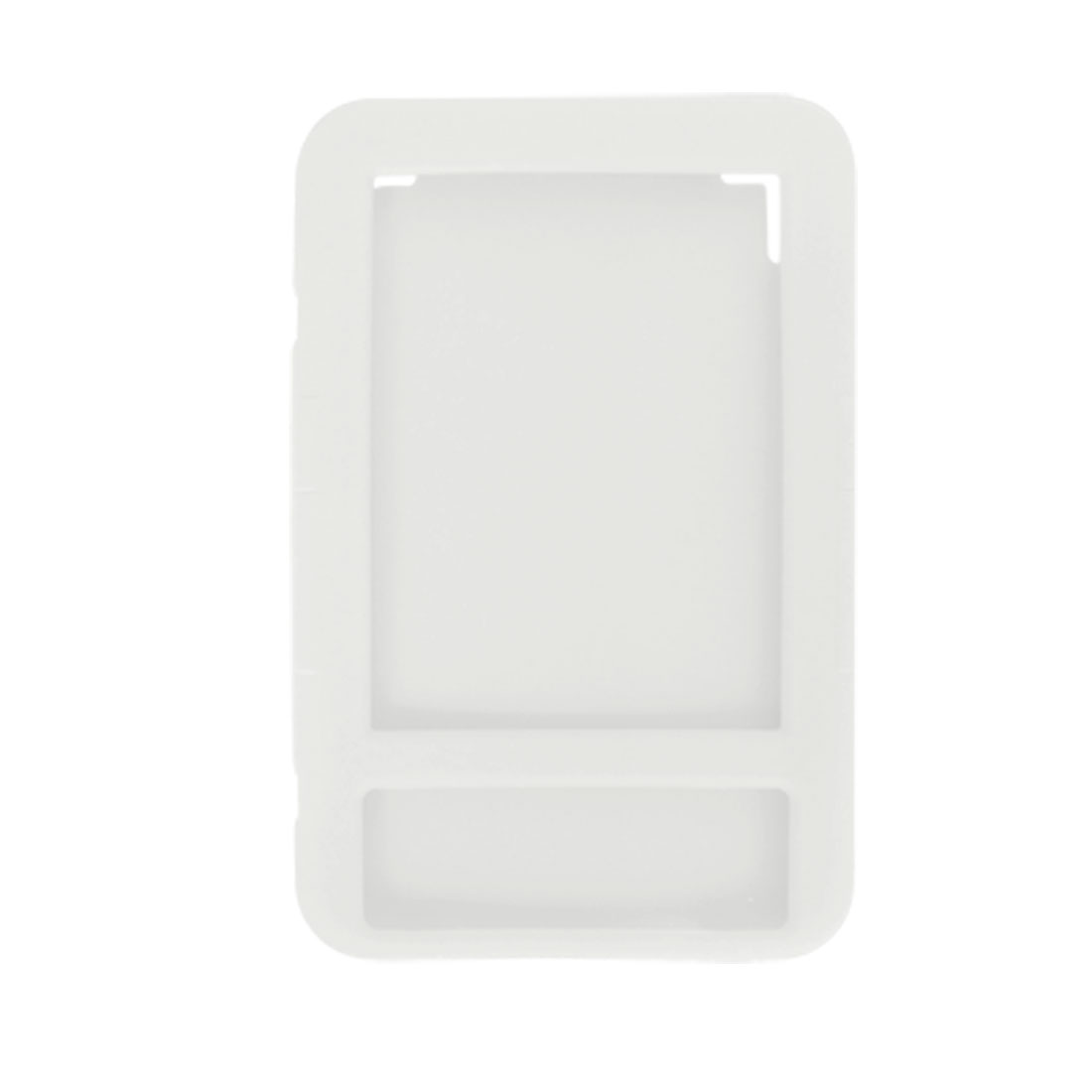 Clear White Silicone Skin Case Cover for Amazon Kindle 3