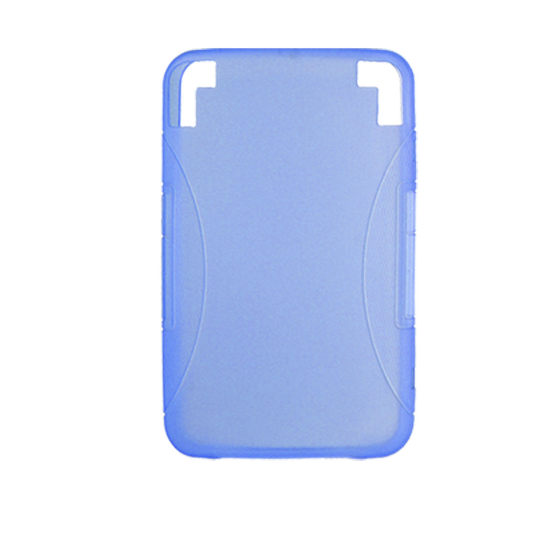 Blue Soft Plastic Smooth Cover Case for Amazon Kindle 3