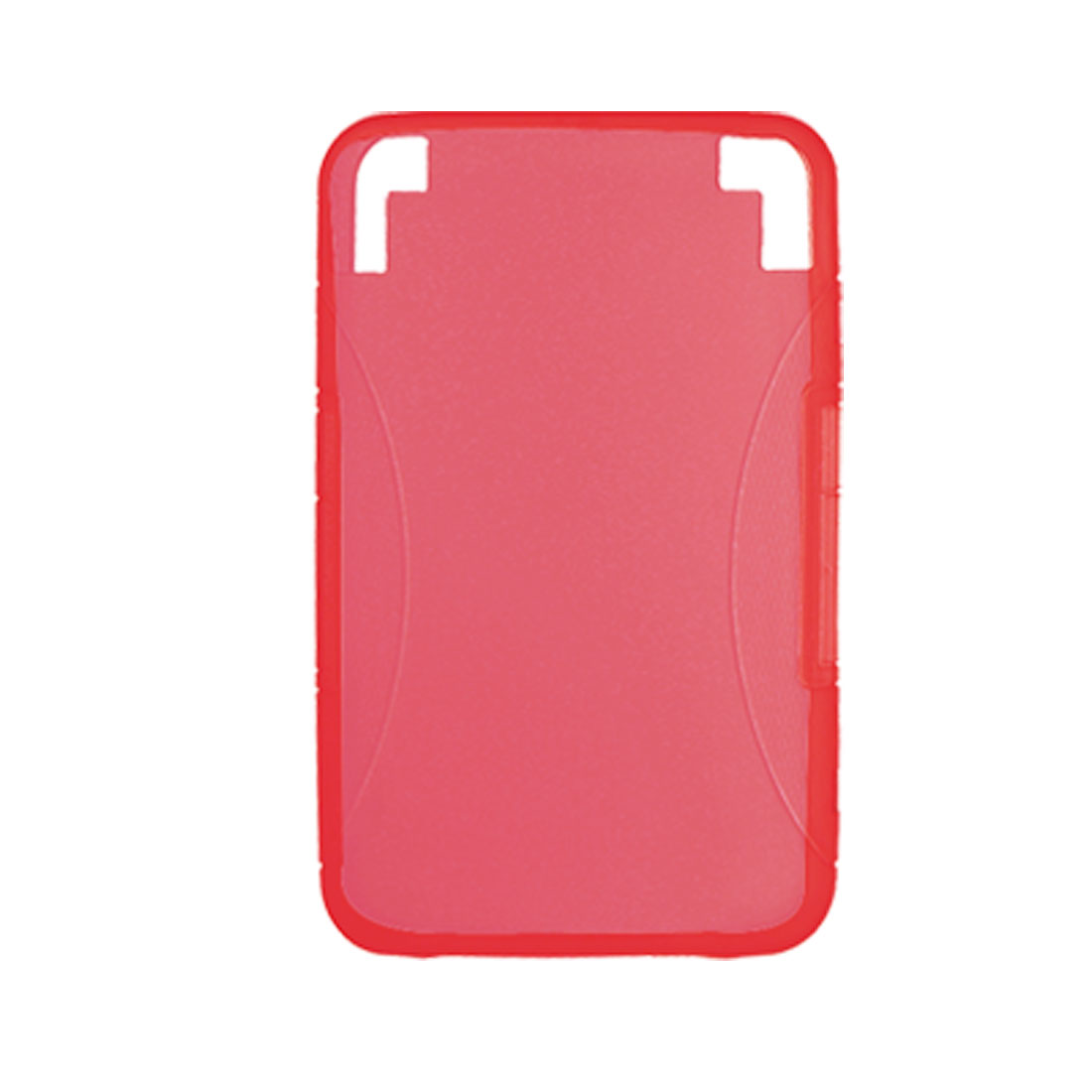 Solid Red Smooth Protective Case Guard for Amazon Kindle 3