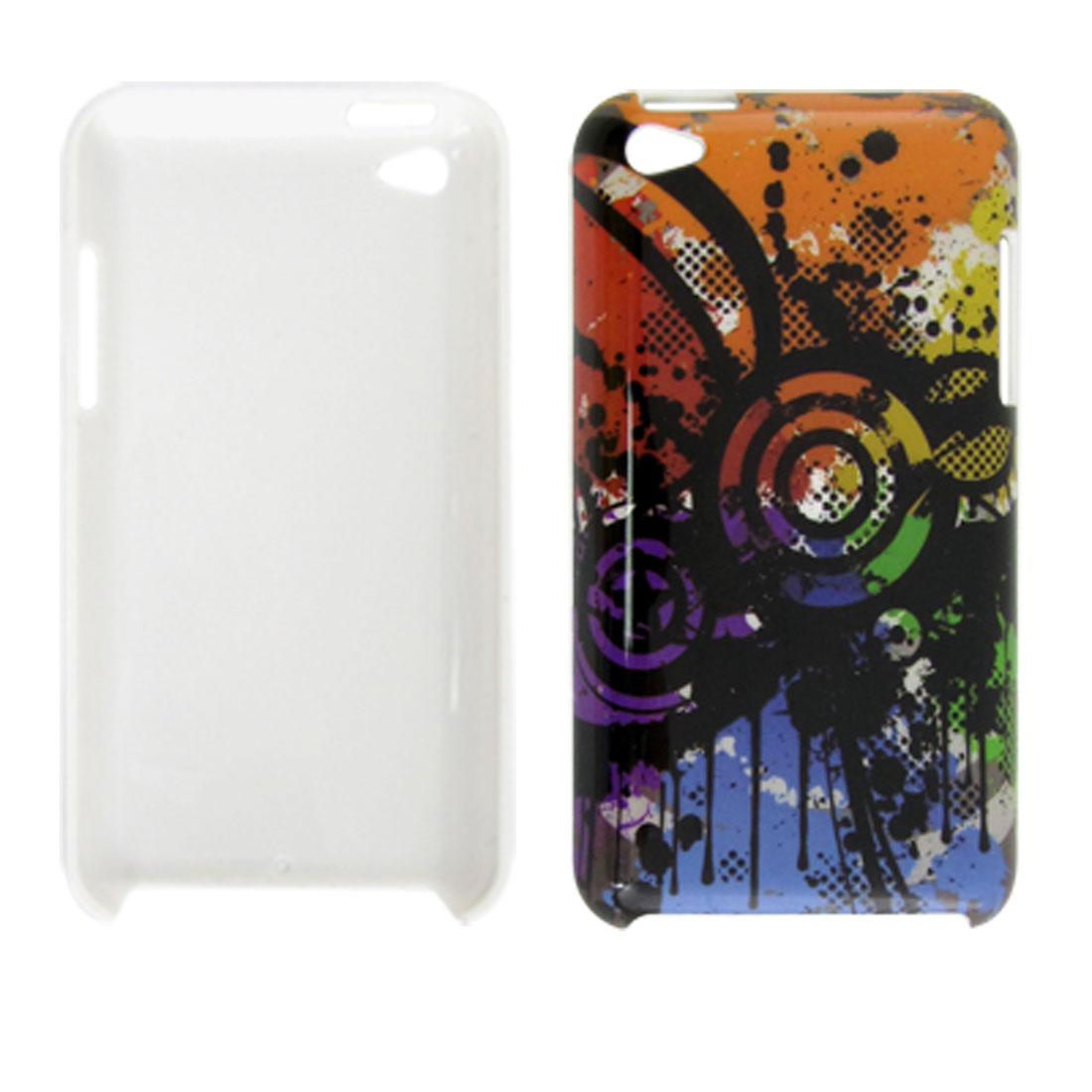 Hard Plastic IMD Non-mainstream Back Case for iPod Touch 4G