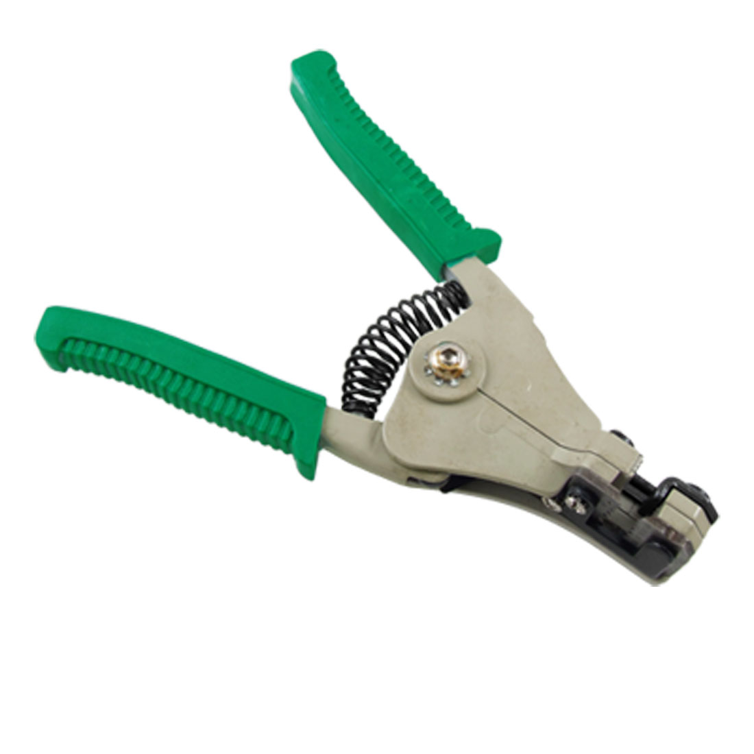 Squeeze Handle Cutter Automatic Wire Stripper w 6 Wire Size
