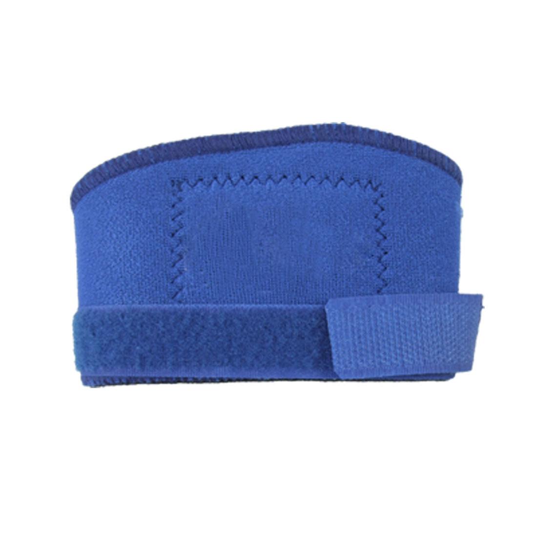 Neoprene Adjustable Sports Knee Support Protector Blue