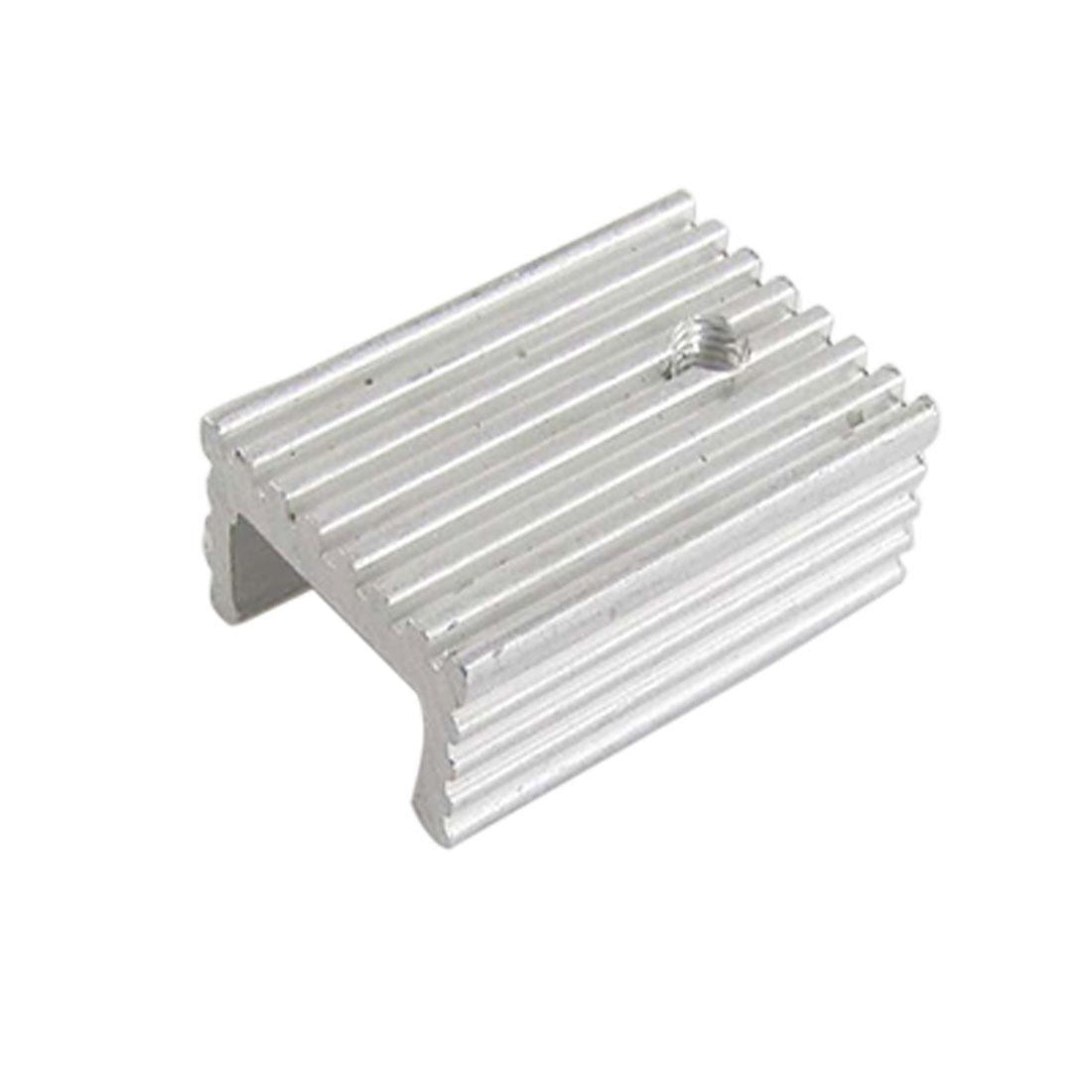 Aluminium 22 x 15 x 10mm Heatsink Cooling Cooler Fin