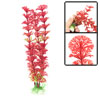 Dark Red Green Unterwater Grass Ornament for Fish Tank