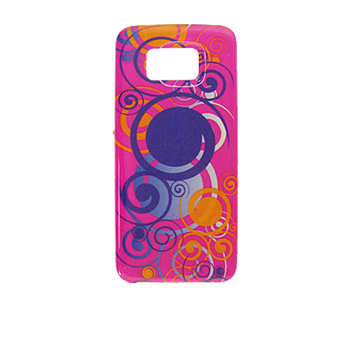 Retro Circle Print Hard Plastic Battery Door Cover for Nokia 5530