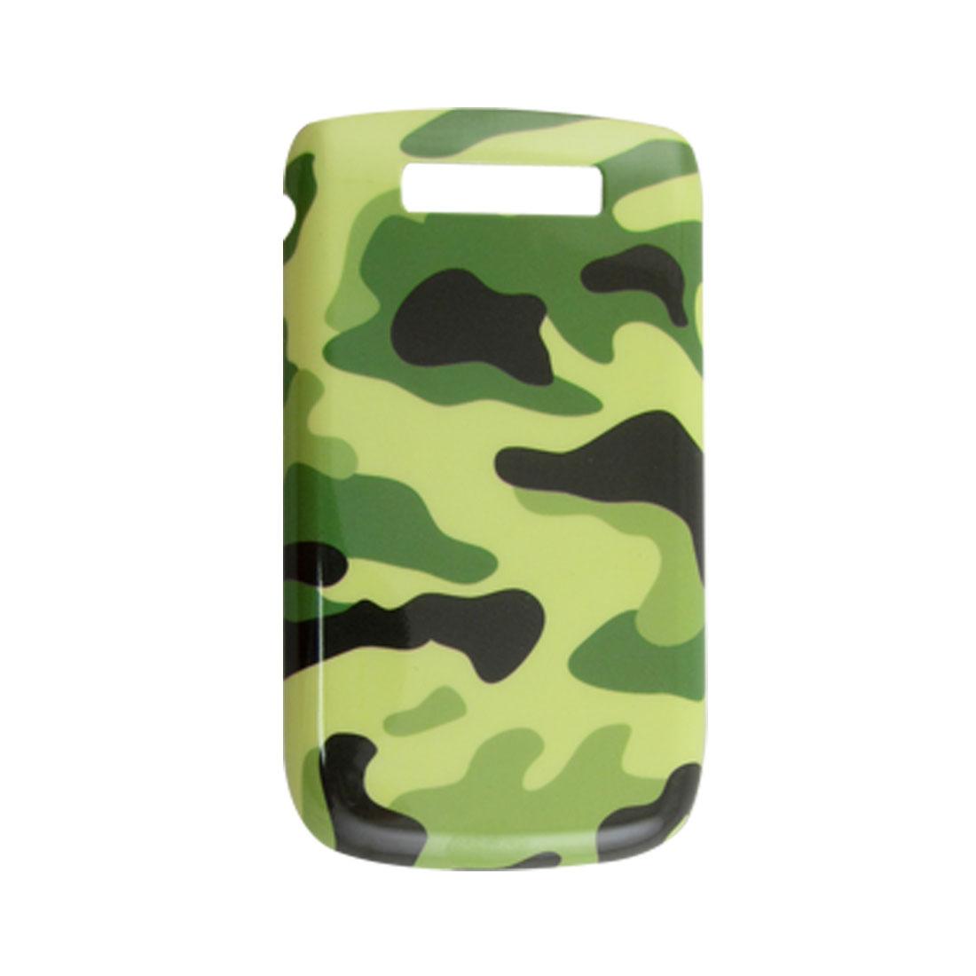 Camouflage Pattern Hard Plastic Back Case for Blackberry 9800