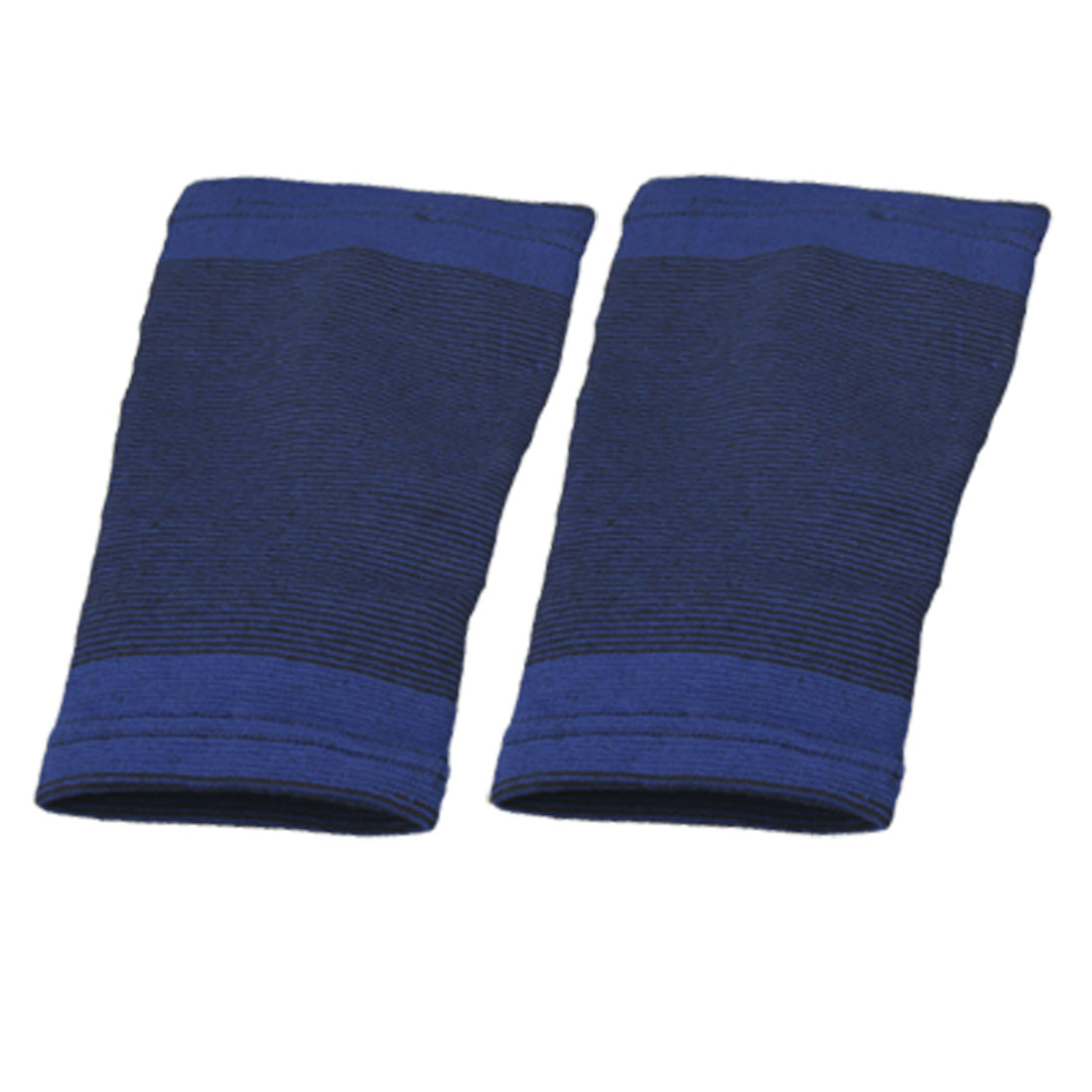2PCS Blue Stretchy Knee Protector Brace Sports Bandage