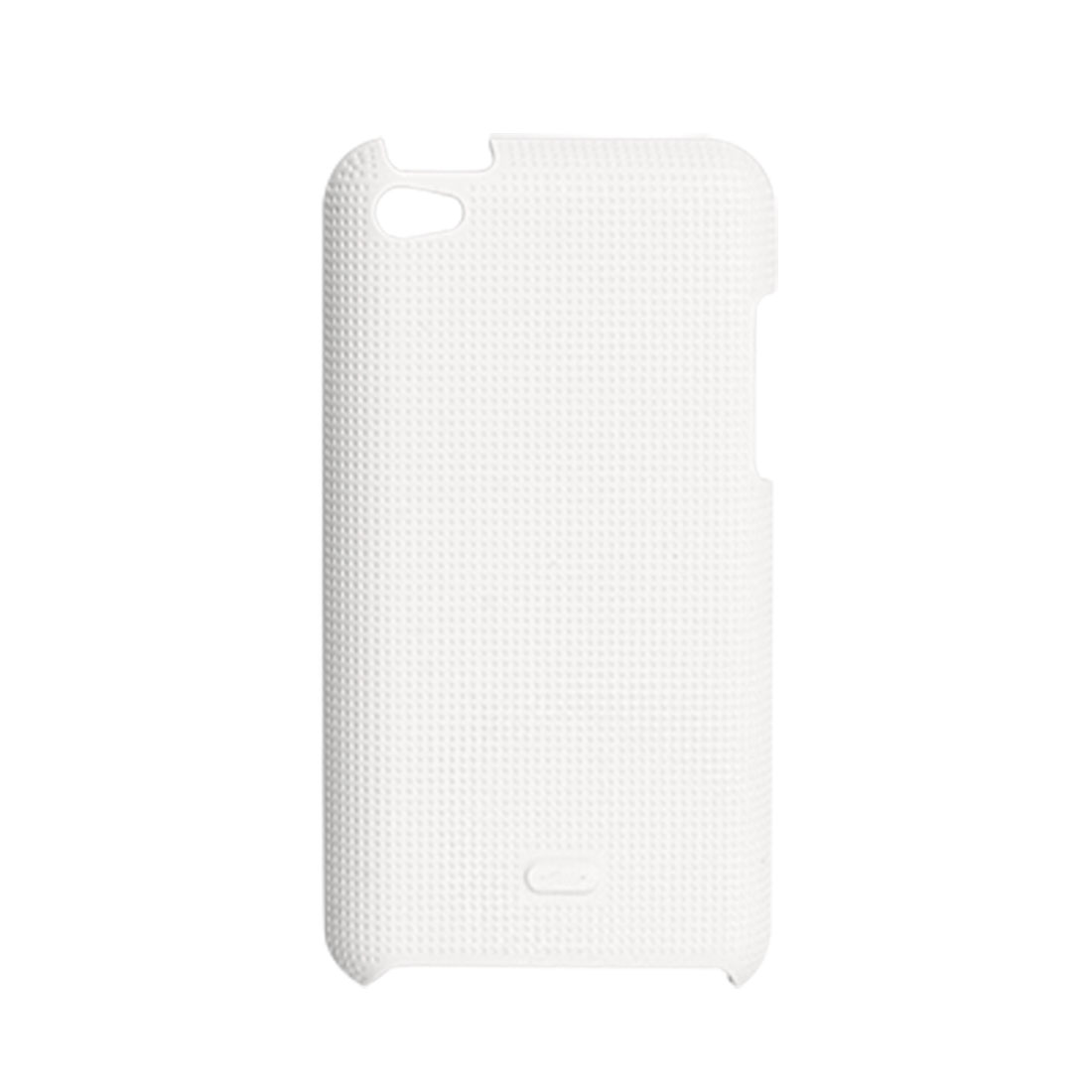 White Antislip Back Case Protector for iPod Touch 4G