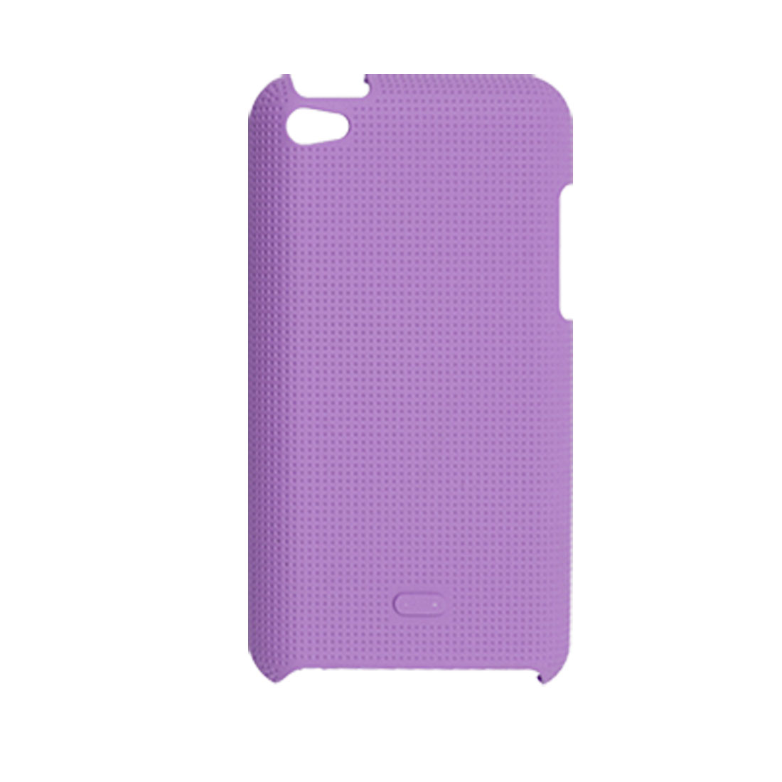 Antislip Back Case Protector Purple for iPod Touch 4G