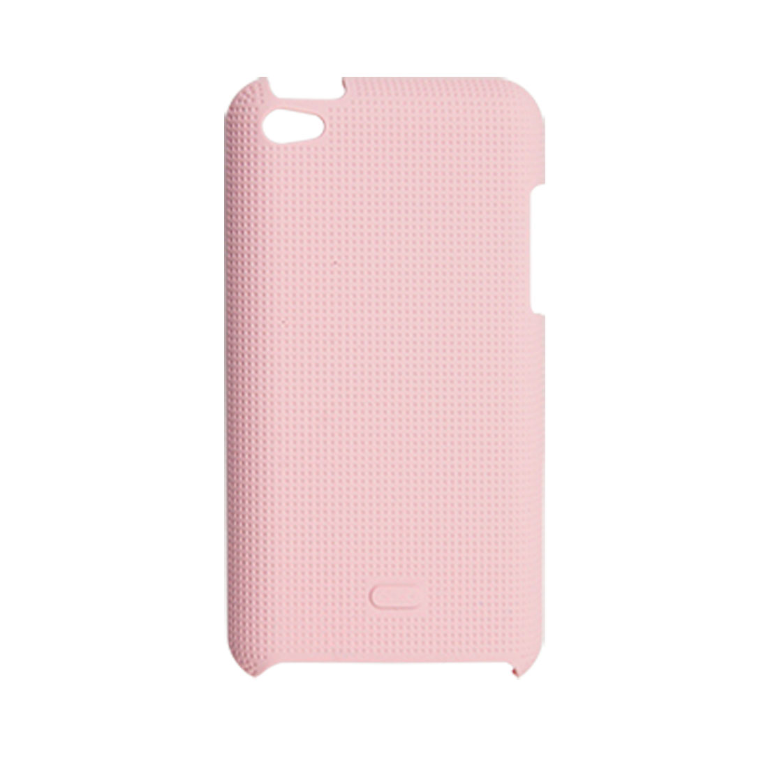 Pink Nonslip Back Case Protector for iPod Touch 4G