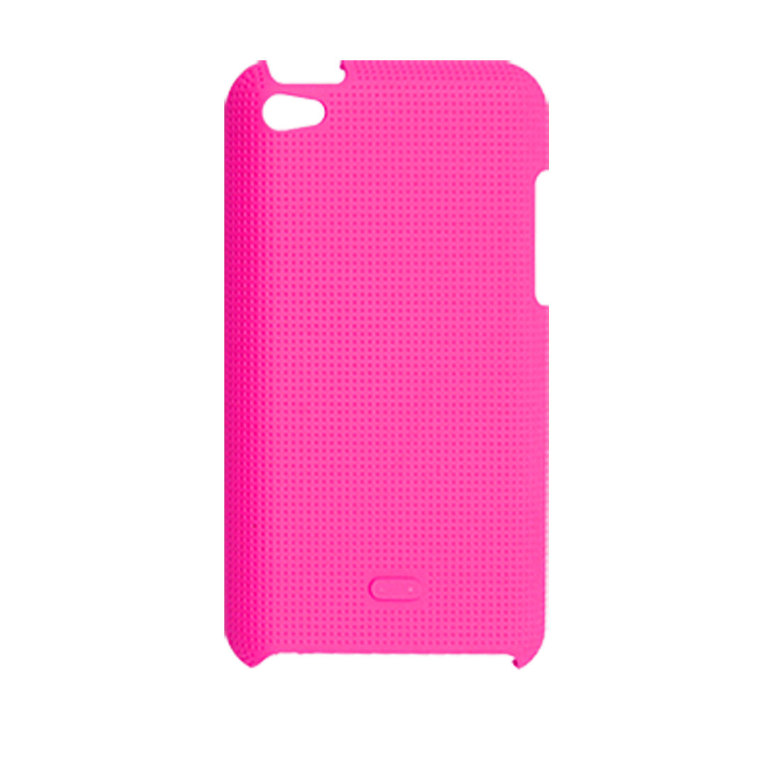 Fuchsia Nonslip Back Case Protector for iPod Touch 4G