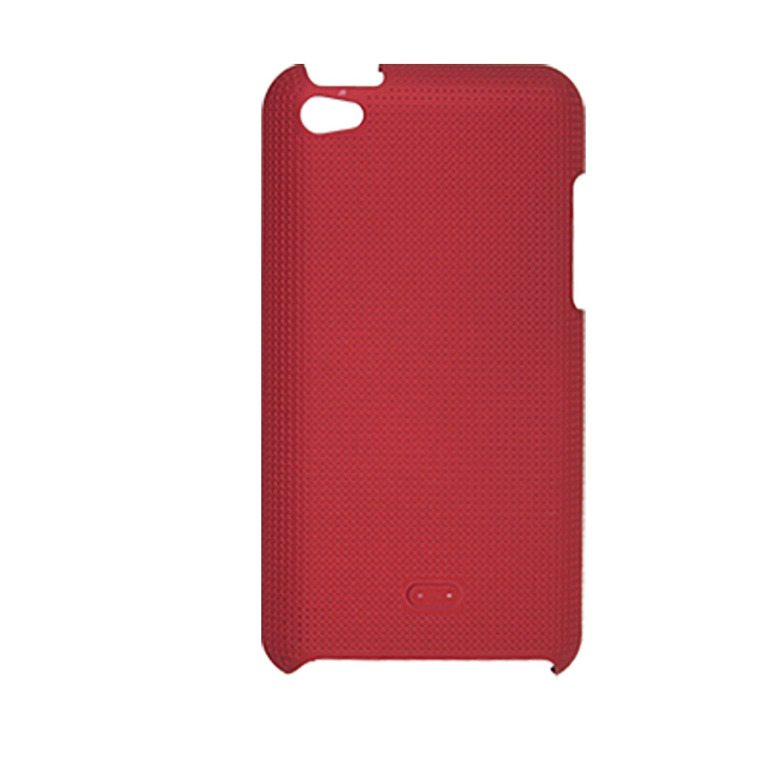 Red Nonslip Back Shell Protector for iPod Touch 4G