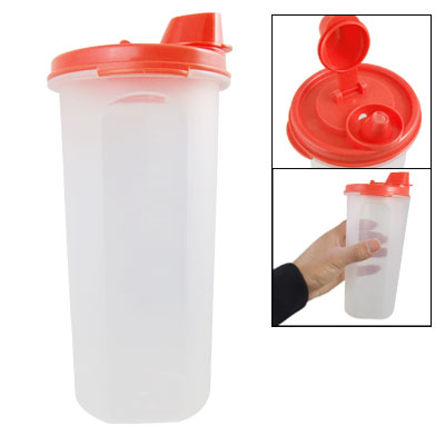 Kitchen Plastic Capped Vinegar Liquid Sauce Airtight Bottle
