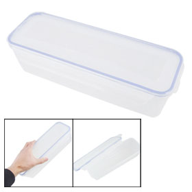 1.6L Plastic Rectangle Airtight Fruits Food Storage Container