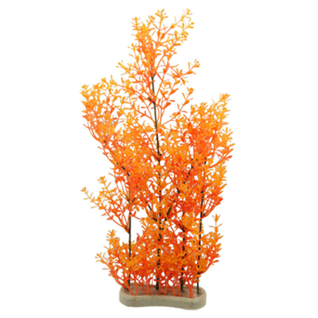 43cm Height Orange Plants Aquarium Aquascaping Plants