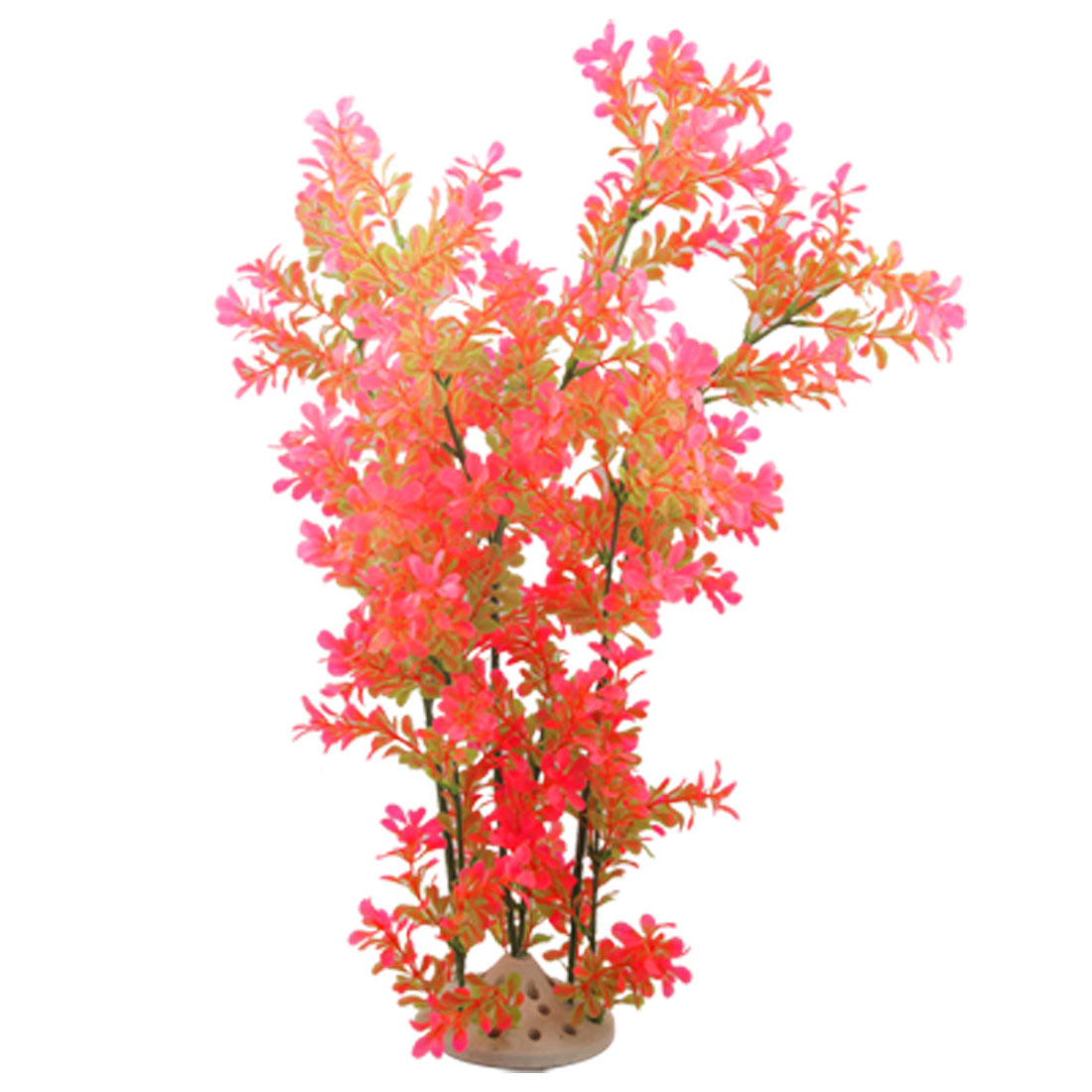 Fish Tank 62CM Height Aquascaping Pink Lime Plants Ornament