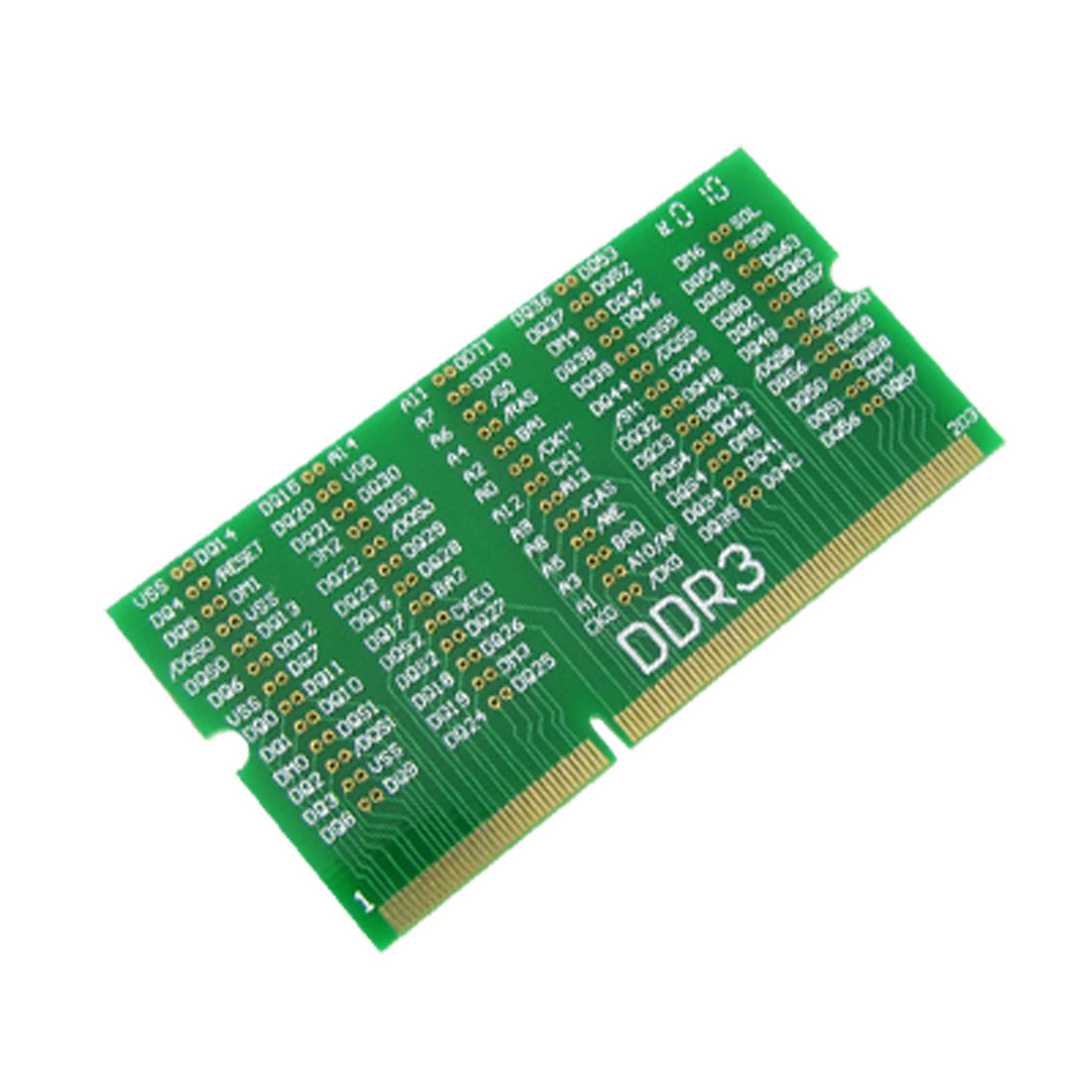 DDR3 Mini-PCI Resistance Dummy Load Card for Notebook